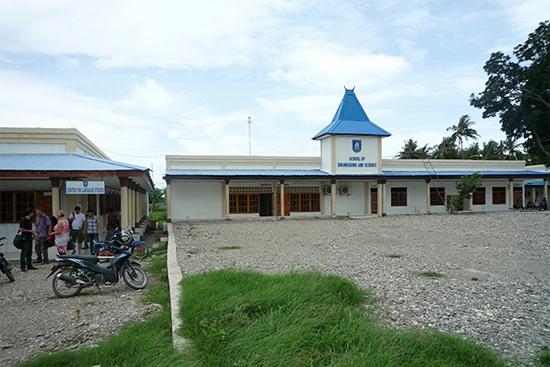 ディリにあるテトゥン語学校