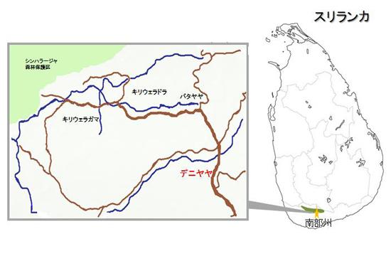 デニヤヤ地図