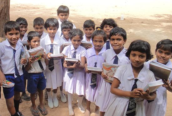 イラナパーラ校の4年生