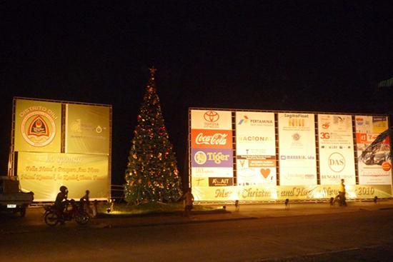 民間企業によるクリスマスの演出