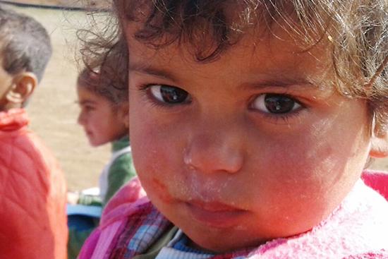 2011年からの紛争以降、避難生活を続けるシリア人の子ども達