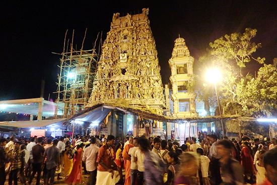 ワッターパライのヒンズー寺院
