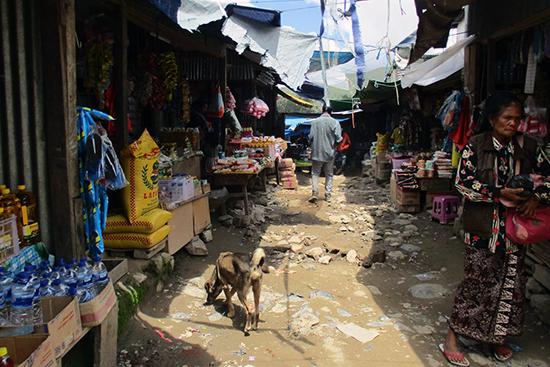 マウベシの市場の中。去年、日本から来た大学生を案内したとき「ここにファミリーマートがあればいいんだけど」といってみたら、黙殺された。