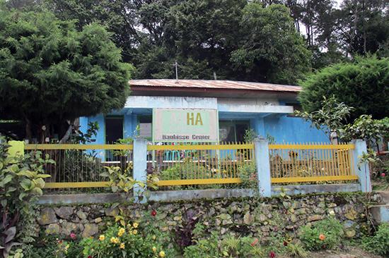 マウベシにある英語の学校。この前を歩いているとgood afternoon! などと声をかけられる。それ以上の会話に発展したことはない。