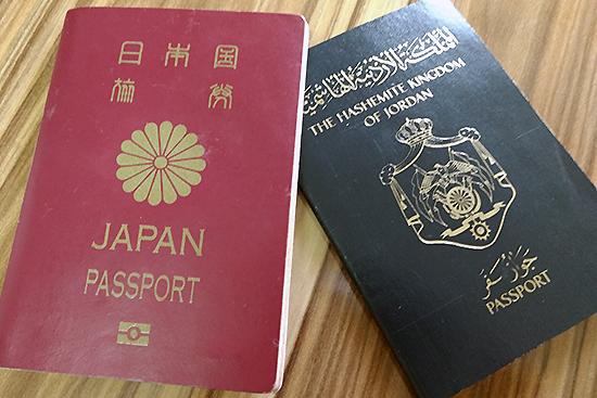 ヨルダンパスポートを持つパレスチナ人は多い