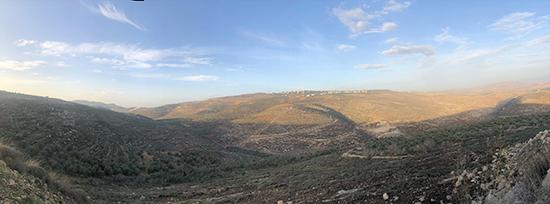 カラック山からの景色