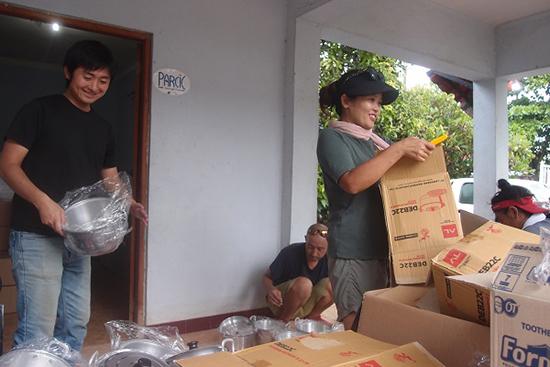 東ティモール 洪水被災者支援レポート 3月28日(土)