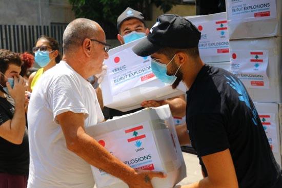 【ベイルート大規模爆発レポート】#4 皆さまからのご寄付で食糧・衛生用品の配布を実施しました!