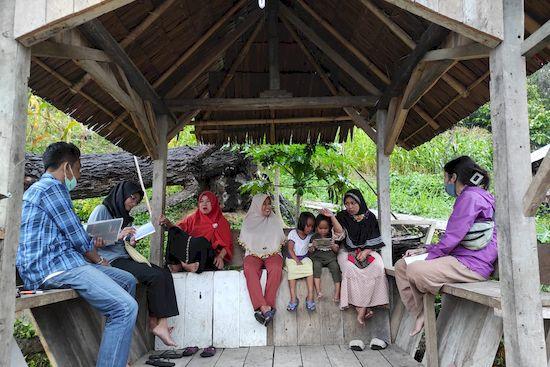 コロナ禍のインドネシア国内移動と事業地の様子