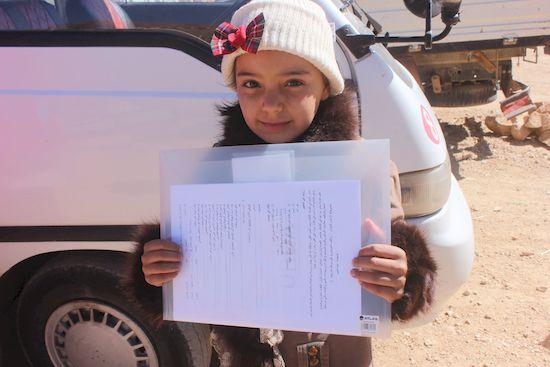 アルサール市での教育活動